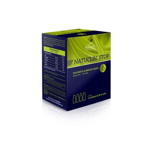 Natuclin Stop - Kit completo com 4 frascos 30ml
