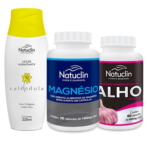 Diabete-Sob-Controle-Natuclin---Oleo-de-Alho-Natuclin---Magnesio-Bisglicinato-Natuclin---Locao-de-Calendula